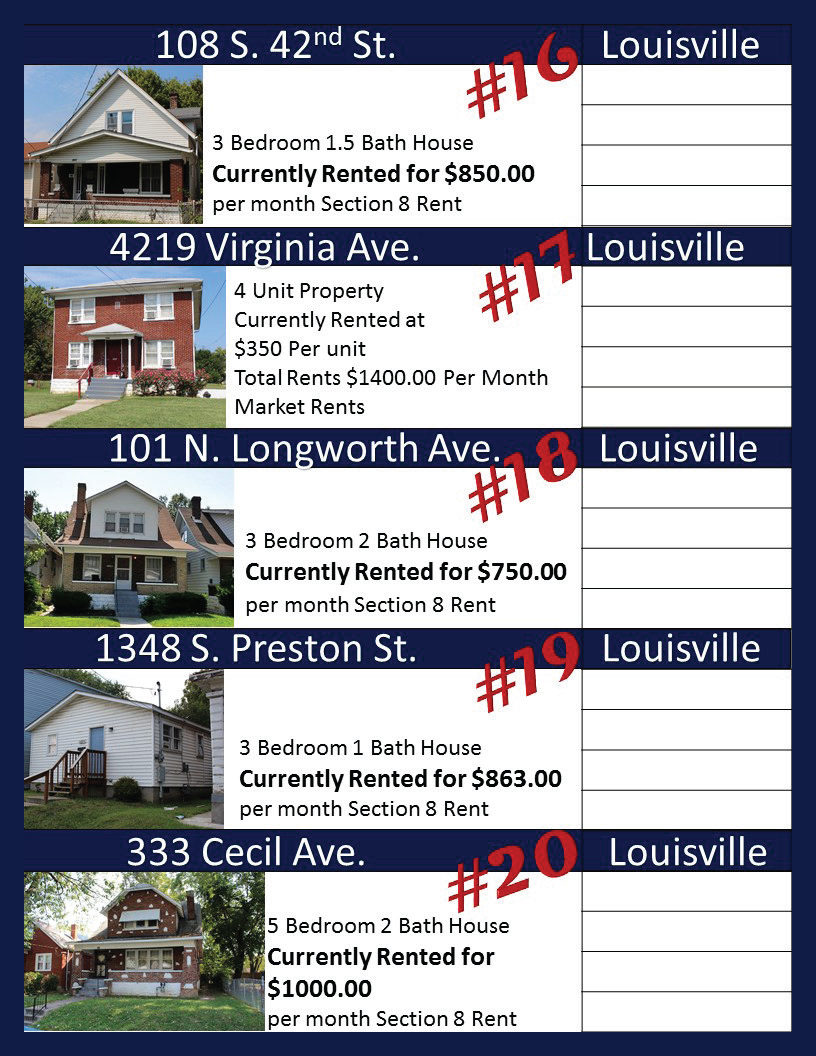 Metro Louisville Real Estate Investors Auction Re-Max Group Auctioneers_Page_05