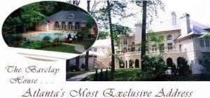 """1065 West Paces Ferry Road, GA – """"The Barclay House"""""""