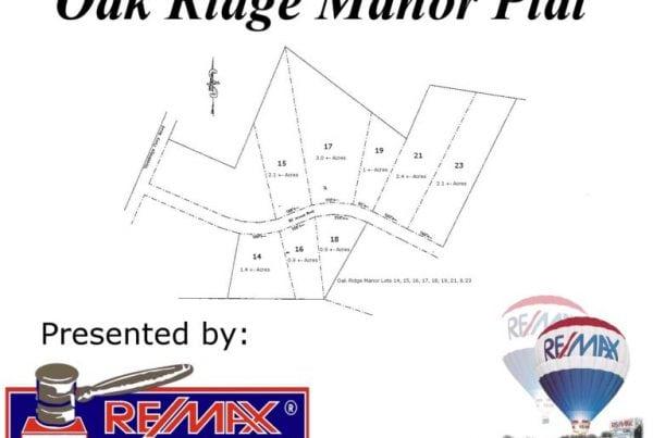 8 Oak Ridge Manor Lots