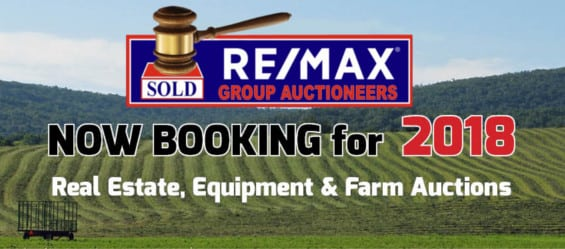Now Booking Auctions 2018