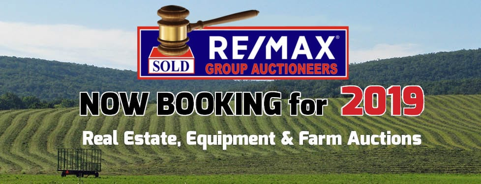 Now Booking Auctions 2019