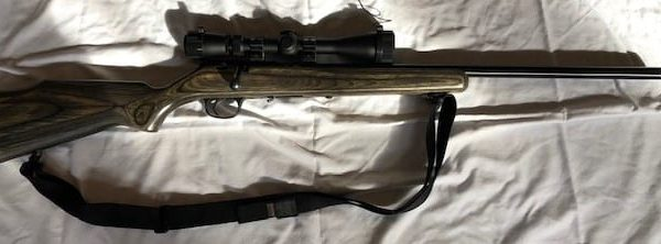 Marlin .17 w leupold scope