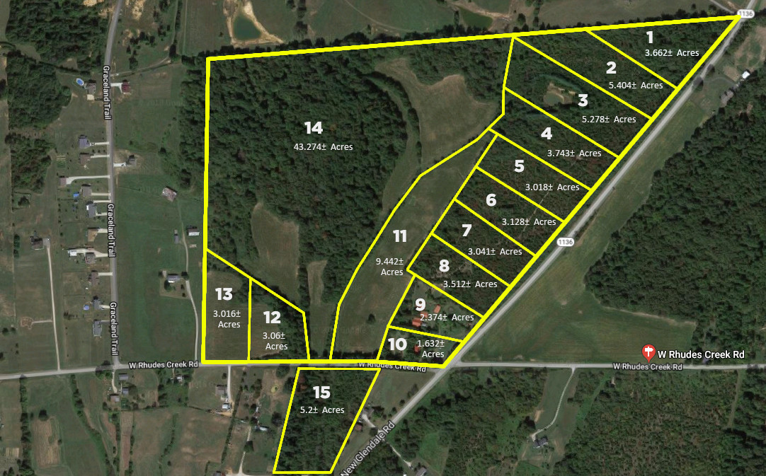 Auction | 98± Acres – 1892 W. Rhudes Creek Rd. | Saturday, October 26th | 10:00 am EDT