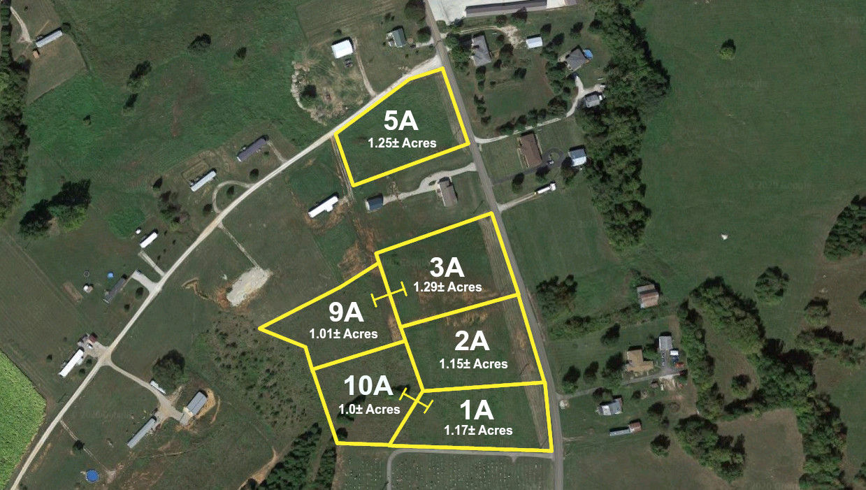 Absolute Online Auction | Building Lots – Irvington, KY | July 20-23, 2020