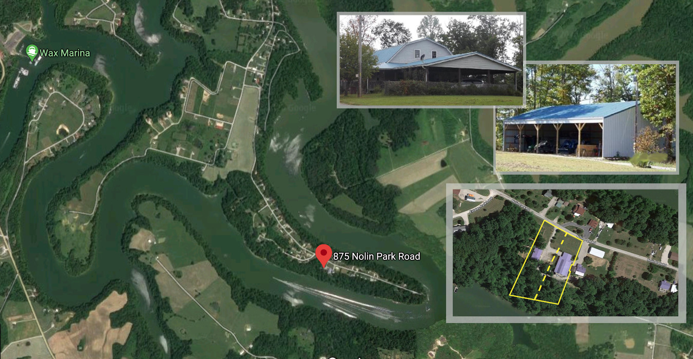 875 Nolin Park Lake Property Absolute Auction